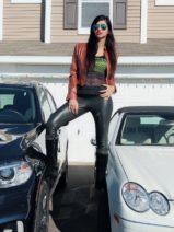 Actress Mishka Tarkar Touches Her Height