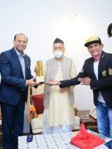 Governor Shri Bhagat Singh Koshyari Inaugurated The Dadasaheb Phalke Icon Award 2020 Trophy